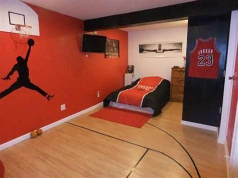 deco basketball chambre basketball room grant s inspiration