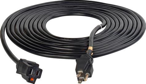black extension cord milspec d16624015 propower cordset 12 3 ac extension cord black 15 foot