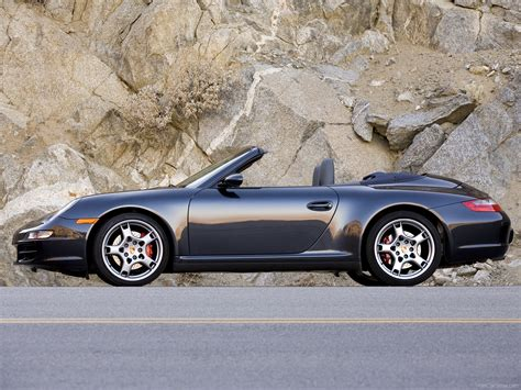 porsche convertible black image gallery 2007 carrera 4s