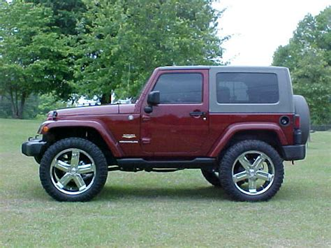Jeep Wrangler 22 Jeep Wrangler Jk With Lift 35 Quot Tires On 22 Quot Wheels