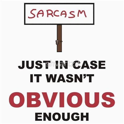 Dark Purple Duvet Covers Quot Sarcasm Sign Quot T Shirts Amp Hoodies By Shvartzit Redbubble