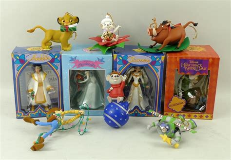 disney grolier ornaments christmas decore
