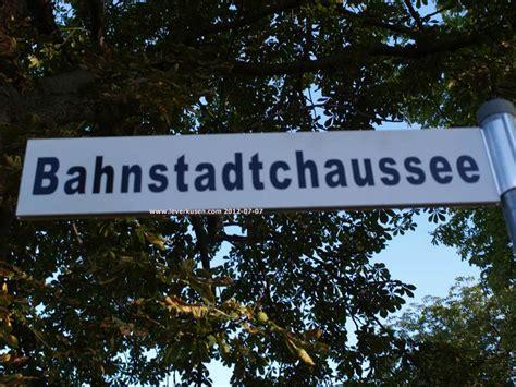Alles Auf Sich Beziehen by Leverkusen Bahnstadtchaussee