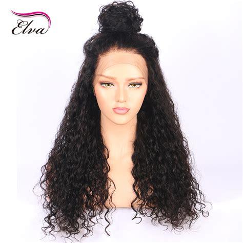 brasilian remy hair elva silk base wigs for black women natural hairline black