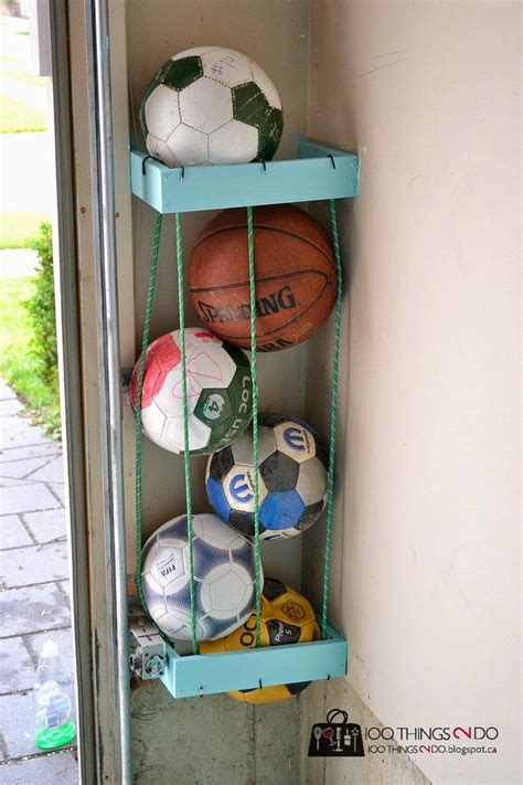 Garage Sports Storage Ideas Diy Storage Solutions For A Well Organized Garage