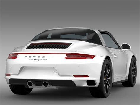 porsche models 2016 porsche 911 targa 4s 991 2016 3d model buy porsche 911