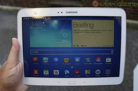 Samsung Galaxy Tab 3 10 1 Review samsung galaxy tab 3 10 1 review ubergizmo