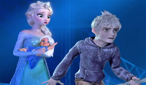Film Elsa And Jack Frost | princess elsa jack frost have a baby frozen full movie
