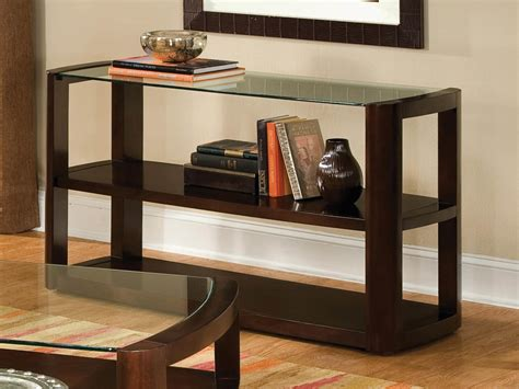 Living Room Console Tables Modern Console Table With Storage