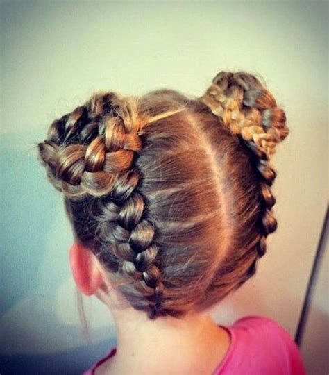 30 cute braided hairstyles for little girls