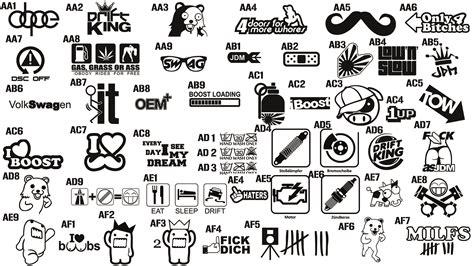 Auto Sticker Vorlagen by Jdm Bild 2 59 Mb Honda Forum Tuning