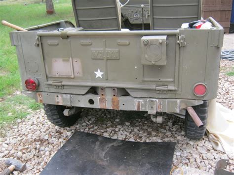 Bumper Belakang Willys 1 willys jeep 6th airborne armoured reconnaissance regiment