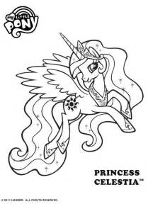 princess celestia coloring pages free my pony princess celestia colouring page