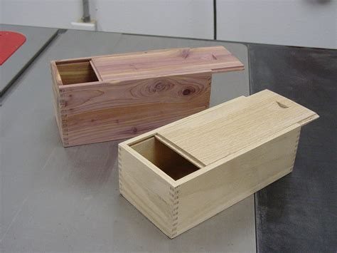 woodworking box joint box jointed boxes with sliding lids snazzy bouw