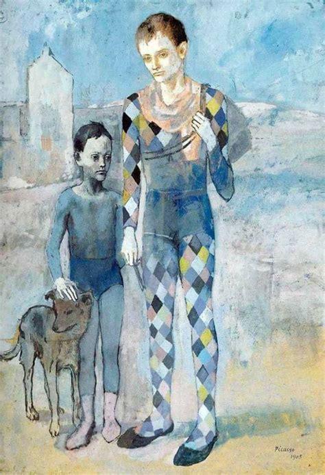 picasso paintings blue boy la mentida the secret edicions