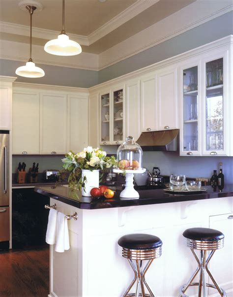 Kitchen Cabinet Towel Rack by Sumptuous Cake Stand With Dome In Kitchen Eclectic With White Kitchen Countertop Next To Blue