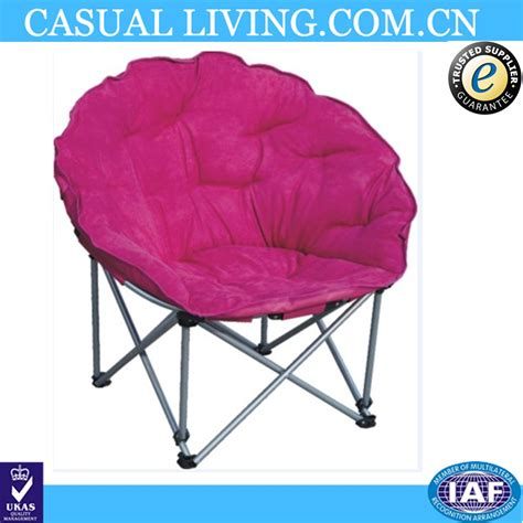 Moon Chair Covers by Indoor Comfortable Steel Folding Pink Moon Chair