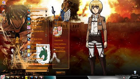 qmobile titan themes download shingeki no kyojin theme
