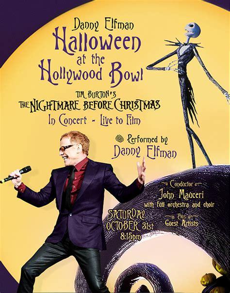 danny elfman halloween danny elfman performing at hollywood bowl on halloween