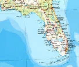 map of florida with towns florida reference map