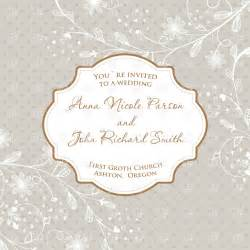 wedding card clipart free vintage wedding card with frame and ornate floral