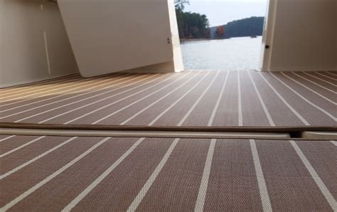 pontoon boat teak vinyl flooring carpet vidalondon