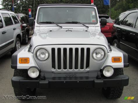 Transitowne Jeep 2006 Jeep Wrangler Rubicon 4x4 In Bright Silver Metallic
