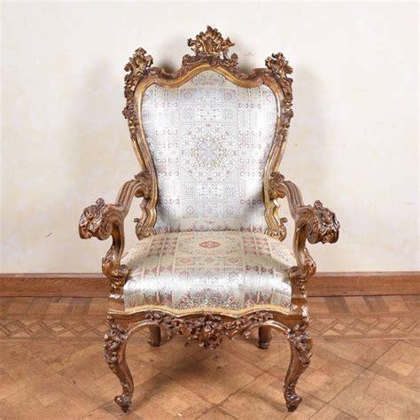 italian armchairs important italian armchair 17th century