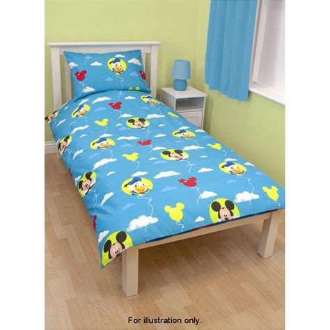 Bedcover Set Single No3 Motif Mickey Mouse b m gt mickey mouse single duvet set 2594482