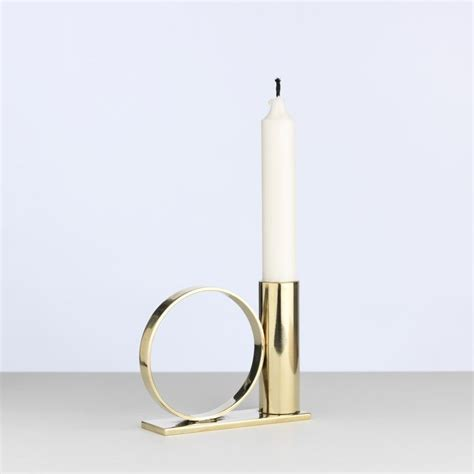 candle holder ring lina nordqvist design copper and