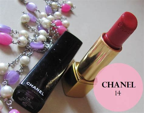 Chanel Lipstick Price chanel lipstick no 14 review swatches price