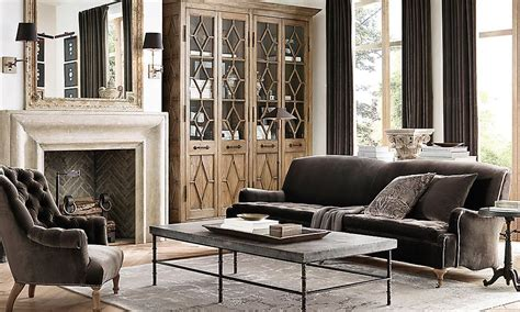 Restoration Hardware Living Room Ideas - 20 amazing living rooms inspired by restoration hardware