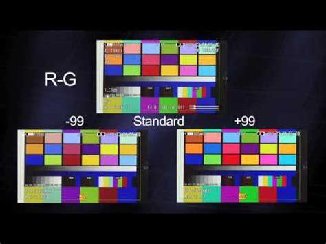 color matrix color matrix explained cinetechnica