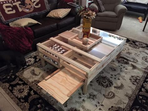 Pallet Coffee Table Ideas Pallets Ideas Designs Diy Pallet Coffee Table With Storage