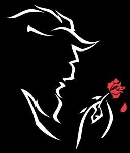 and beast silhouette dowdy writings and the beast