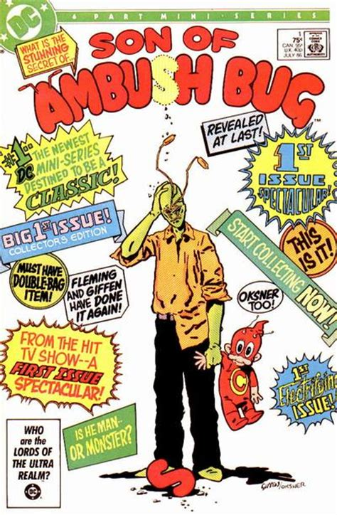 sons vol 1 when i grow up rebirth sons rebirth of ambush bug vol 1 1 dc database fandom powered