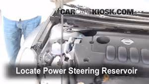 Power Steering Fluid For Nissan Altima Follow These Steps To Add Power Steering Fluid To A Nissan