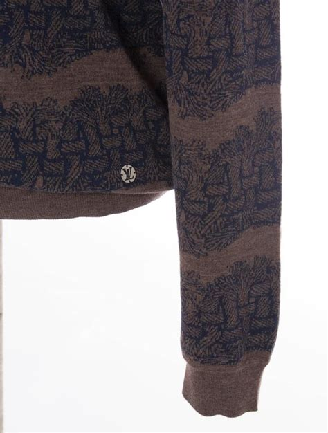 Side Rope Sweater Diskon 1 louis vuitton christopher nemeth s wool sweater with