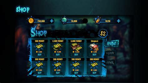 game ui layout michael vee 行尸走肉the walking dead game ui design