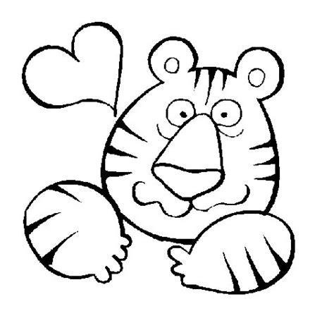 imagenes de amor en ingles para dibujar dibujo de tigre loco de amor para colorear dibujos net