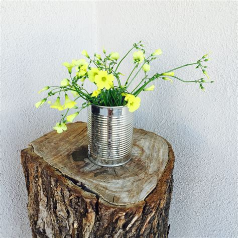 Tin Can Vase by Rustic Tin Can Flower Vase The How To Duo