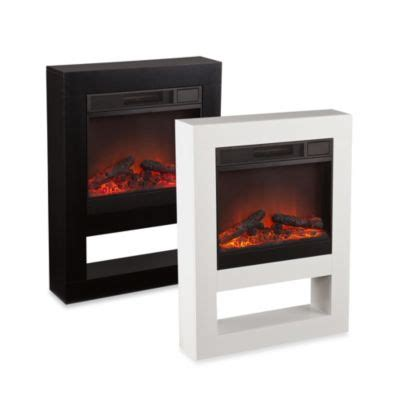 and martin mofta electric fireplace in black