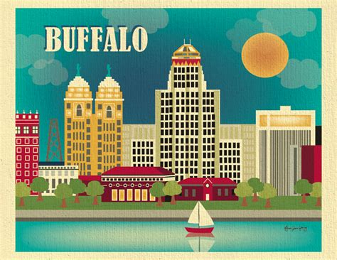 open houses buffalo ny buffalo new york skyline city wall poster print art for homes offices and nursery
