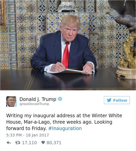 donald trump inauguration speech donald trump sa svedomito pripravoval na svoj prejav