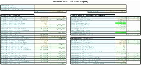 return  investment excel template exceltemplates