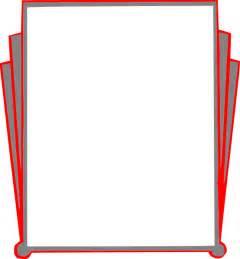 Decorative Type Decorative Border Pages Book Clip Art Vector Clip Art