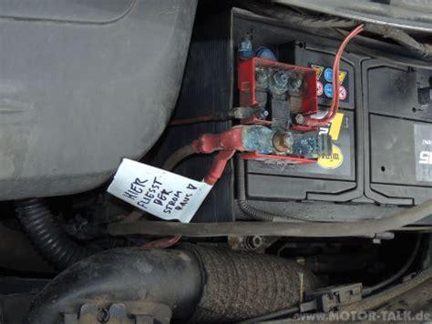 Welche Batterie Für Welches Auto by Scenic Batterie Wird Entladen Welches Kabel Ist Das