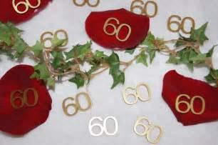 dekoration 60 geburtstag tischdekoration geburtstag selber machen