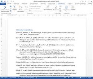 Literaturverzeichnis Laut Apa Richtlinien