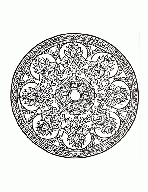great mystic mandala coloring 1514699281 fractal coloring pages coloring home